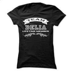 Team DELIA Life time member cool shirt !!! - #tshirt frases #grey tshirt. CHECK PRICE => https://www.sunfrog.com/Holidays/Team-DELIA-Life-time-member-cool-shirt-.html?68278