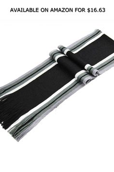 Men Fashion Casual Stripe Print Artificial Wool Scarf Shawl Warm Scarves ◆ AVAILABLE ON AMAZON FOR: $16.63 ◆ Material: Artificial Wool Color: Black, Coffee, Dark Gray, Light Gray, Blue, White Size: 180 x 23cm/70.8 x 9inch Thickness: Medium Pattern: Stripe Gender: Men Quantity: 1Pc/Set Season: Spring/Autumn/Winter Occasion: Casual Features: Stripe Pattern design Can be used with various clothes Soft fabric make you feel comfortable Best gift for your family or friends Package Content: 1 x Men… Stripe Pattern, Stripe Print, Pattern Design, Men Fashion, Fashion Brands, Fashion Accessories, Warm Scarves, Wool Scarf, Black Coffee