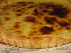 Tarte de Bacalhau na Bimby - Receitas Bimby Polenta Recipes, Cod Recipes, Portuguese Recipes, Portuguese Food, Ratatouille, Good Food, Food And Drink, Cheese, Fish