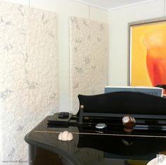Ambachtelijk Vilt akoestische wandpanelen - Witteveen Projectinrichting, Ouderkerk a/d Amstel
