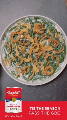 This Classic Green Bean Casserole Recipe is made with fresh green beans and a surprise ingredient that sends it over the top! Side Dish Recipes, Vegetable Recipes, Dinner Recipes, Veggie Side Dishes, Vegetable Dishes, Classic Green Bean Casserole, Greenbean Casserole Recipe, Casserole Recipes, Cooking Recipes
