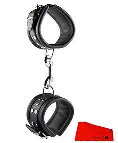 H3000010697 Fußfesseln BLACK 6,5 cm Bondage Handschellen cuffs Sex Toys