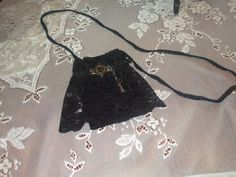 Black Lace with Key and Keyhole by LadyIsabellasAngel on Etsy