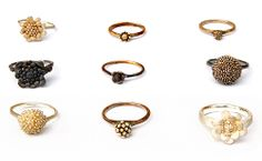 """""""Fair trade"""" rings by Nora Rochel. beautiful and meaningful"""