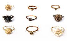 Nora Rochel Rings: Untitled 2011 Fair trade silver, patina