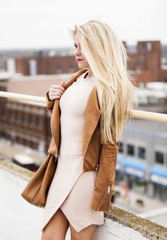 Feminine Edge - Welcome to Olivia Rink Fashion Models, Girl Fashion, Fashion Outfits, Fashion Trends, Casual Fall, Casual Wear, Olivia Rink, Blush Dresses, Rich Girl
