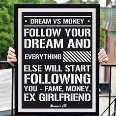 Dream vs Money @moonisaliofficial  Dedicated To All The #dreamers #entrepreneur #entrepreneurquotes #motivationalquotes #instaquotes #inspiration #bhopaldiaries #bhopal #newyork #vegas #london #indonasia #nevergiveup #internetmarketing #affiliatemarketing #onlinemarketing #makemoneyonline #entrepreneurmindset #mumbai #delhi #entreoreneurofinstagram #entrepreneurdlife  #entrepreneurship  #entrepreneurstyle  #entrepreneurinmaking #inspirationalquotes #greatquotes #nevergiveup…