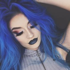 Image result for naomi jon blue hair