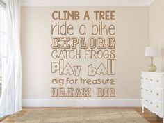 wall stickers boy quotes - Google Search