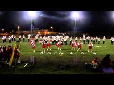 Cardinal High School Marching Band - Kinsman Cup game 2013