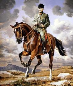 Atatürk Resimleri Pamukkale, Indian Army Special Forces, Ottoman Turks, Turkish Army, The Legend Of Heroes, Beginner Painting, Great Leaders, Shiloh, Historical Photos