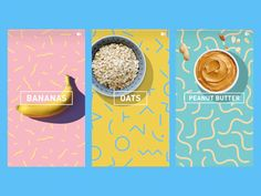 Food Stories designed by Néhémie Dias for adidas Runtastic. Connect with them on Dribbble; the global community for designers and creative professionals. Food Graphic Design, Menu Design, Food Design, Layout Design, Food Advertising, Advertising Design, Packaging Design, Branding Design, Food Packaging