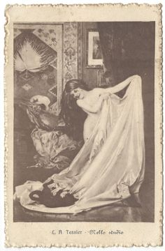 (1918) C.A. Tessier, Nello Studio