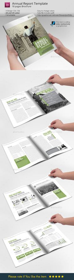 Business Brochure Annual Report #design Download: http://graphicriver.net/item/business-brochure-annual-report/10128120?ref=ksioks