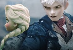 Image uploaded by Elsa Winters. Find images and videos about frozen, elsa and jack frost on We Heart It - the app to get lost in what you love. Jake Frost, Jack Frost And Elsa, Cute Frozen, Elsa Frozen, Jelsa, Modern Disney, The Big Four, Disney And Dreamworks, Find Image