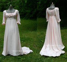 Regency Era Evening gown