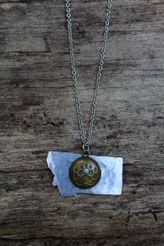 Gone Grizzly Necklace from The Montana Way