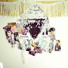 Craft room, inspiration board