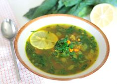 Turmeric & Kale Soup with Ground Lamb – Vegetables N Fruit