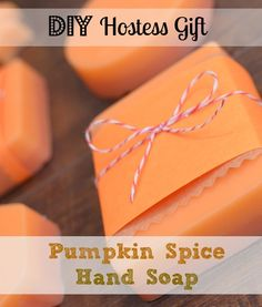 DIY Pumpkin Spice Hand Soap