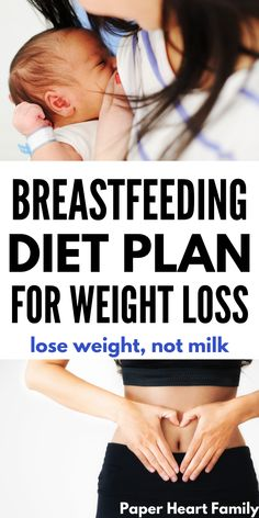 An easy to follow 7-day breastfeeding diet plan for weight loss. It is possible to lose weight while breastfeeding and maintain a healthy milk supply. Follow these tips and eat these foods, with ideas for all 3 meals, breakfast, lunch, dinner and snacks.