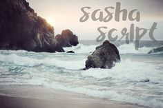Sasha Script, A Hand Painted Font by draw & co. on @creativemarket
