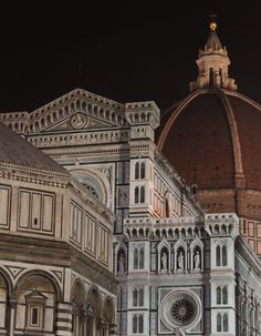 The Baptistry, Santa Maria del Fiore and the Duomo w/dome by Brunelleshi