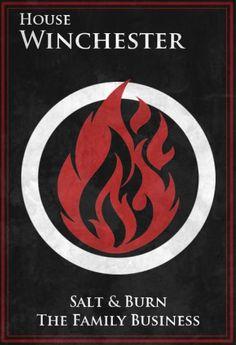 House Winchester #supernatural #GOT