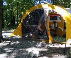 T@B with attached Thermarest add-a-room #TAB camper This would be great for ANY camper!!!!!!!