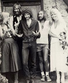 Fleetwood Mac. Loved them when I was little - and still do!