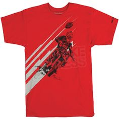 a2e0313f348 Troy Lee Designs T Shirt Jessy Red