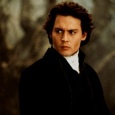 Johnny Depp...but only the Sleepy Hollow version :)