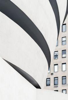 s-h-e-e-r:   Frank Lloyd Wright. Solomon R. Guggenheim Museum #12 da Ximo Michavila