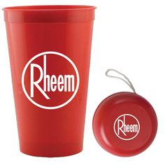 2 piece fun kit, contains 22 oz. US made stadium cup (Red, Blue, Black, White, Green, Orange, Yellow & Clear) and a hi-impact plastic yo-yo (red, blue, yellow or white) packaged in the stadium cup and poly bagged. 1 color imprint per piece included. 7 day regular production. 3 day rush available.