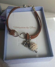 https://www.facebook.com/Hobbystica/ #bracelet #crochet #handmade #lemaddine #bracciale #jewelry @lemaddine