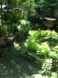 French Quarter Courtyard Garden