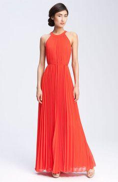 813eb1f920f ShopStyle  Ted Baker London Pleated Chiffon Maxi Dress Maxi Dress Wedding