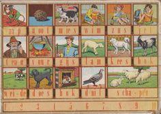 Mijn oude schoolklas met schoolplaten van Cornelis Jetses, Koekoek en veel andere tekenaars. Hier enkele hoogtepunten uit de verzamen van Cornelis Jetses