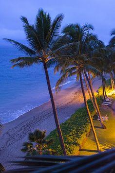 Morning in paradise in Hawaii