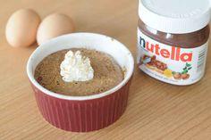 Simple Nutella Soufflé