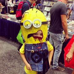 Zombie Minion. Why? Why not just a regular minion? Those are still cool!