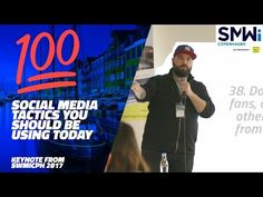 (9) 💯100 Social Media Tactics You Should Be Using Today - SWMiCPH 2017 💯 - YouTube