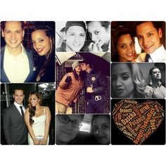 Dascha Polanco and Matt McGorry from Orange is the New Black. Honestly my favorite couple of the show ❤