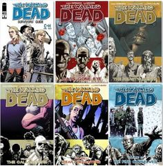 The Walking Dead Vol 1-15 for Kindle