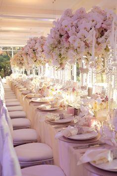 Karen Tran Styled Event at Watsons Bay Boutique Hotel - Modern Wedding Elegant Centerpieces, Wedding Table Centerpieces, Wedding Flower Arrangements, Wedding Reception Decorations, Wedding Flowers, Masquerade Centerpieces, Tall Centerpiece, Floral Wedding, Floral Arrangements