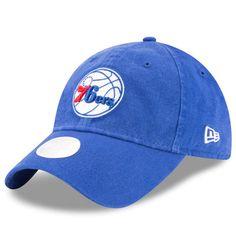 6a9afc18 Philadelphia 76ers New Era Women's Preferred Pick 9TWENTY Adjustable Hat -  Royal