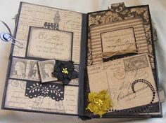 Lots of awesome tutorials on mini albums here!