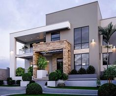 49 most popular modern dream house exterior design ideas 8 House Designs Exterior design dream exterior house ideas modern modernhouseexterio popular Contemporary House Plans, Modern Exterior House Designs, Villa Design, Modern Exterior, House Architecture Design, Modern House Design, Contemporary House Design, House Front Design, House Exterior