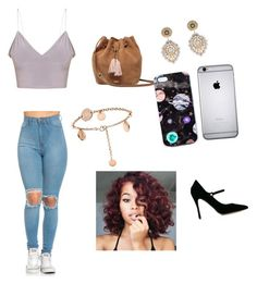 """❤️❤️🌸"" by liltwinki on Polyvore featuring UGG, Miguel Ases, Nikki Strange and Tabitha Simmons"