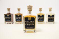 Package | Villányi Pálinka Limitált Kiadás by Med Mate, via Behance